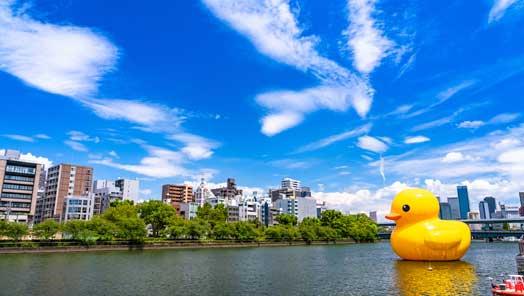 大阪中之島の風景