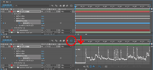 イトウ先生のTips note 【AfterEffects CC 2019】linearメソッド